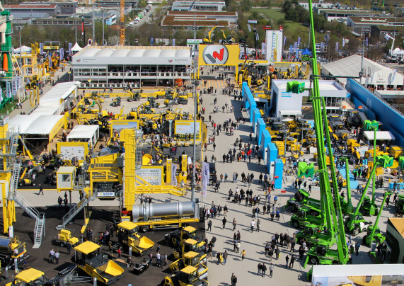E-Mak is getting ready to blow at Bauma!