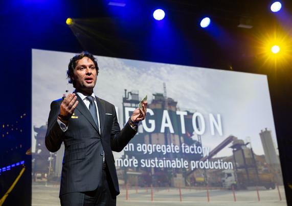Megaton представлена членам Европейской Ассоциации Производителей Щебня