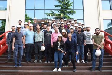 Makine Mühendisliği öğrencilerinden ziyaret Galeri Fotoğrafı