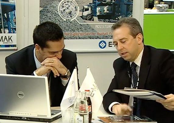 4. Eurasphalt & Eurobitume Kongresi, E-MAK Simge Challenger Sunumu