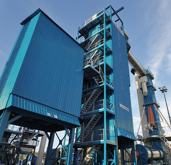 Stationary Asphalt Plants